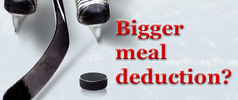 Larger deduction might be available to businesses providing meals to their employees